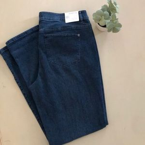 J Jill Slim Boyfriend Straight Leg Denim Jeans